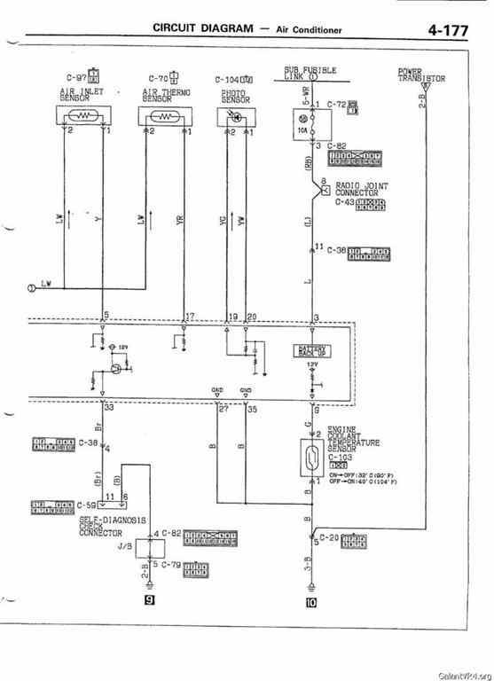 mitsubishi evo 3 wiring diagram pdf climate control wiring diagram evolution 1 3  cc gsr technical  climate control wiring diagram