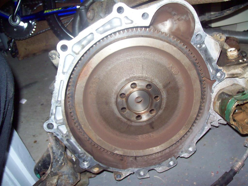 FWD Turbo Flywheel/Clutch Conversion (93 v 63